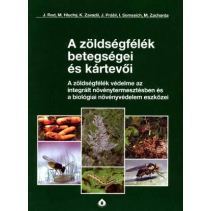 Biocont könyv - A zöldségfélék betegségei és kártevői