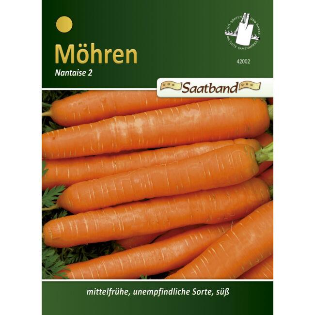 Sárgarépa 'Nantaise 2' / Daucus carota