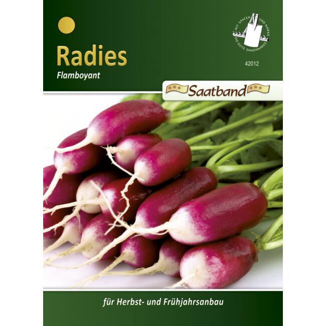 Retek 'Flamboyant' / Raphanus sativus