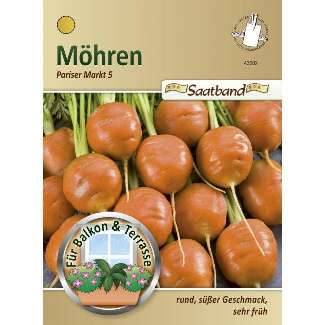 Sárgarépa 'Pariser Markt 5' / Daucus carota