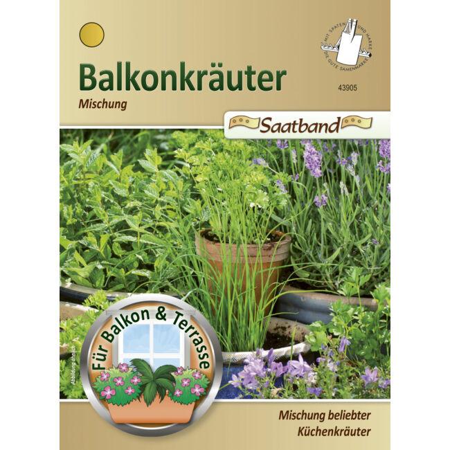 Balkon-fűszernövények
