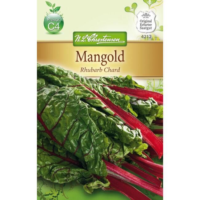 Vörös szárú mángold 'Rhubarb Chard' / Beta vulgaris